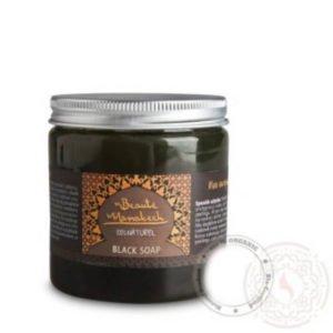 Czarne mydło naturalne SAVON NOIR NATURAL 200 g