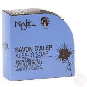 Mydło ALEPPO z olejkiem z CZARNUSZKI