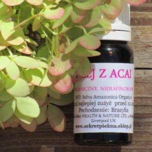 Olej z acai nierafinowany - silny antyoksydant 10 ml