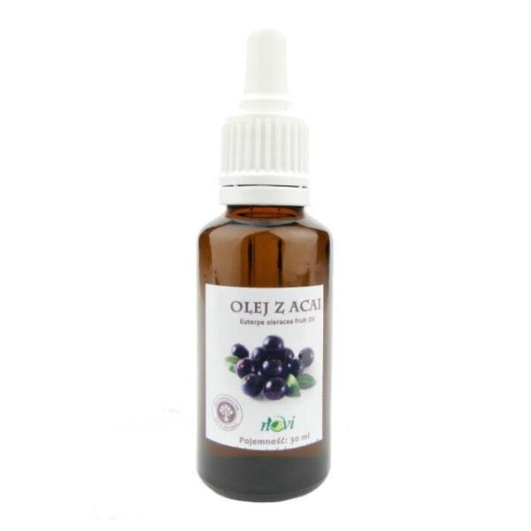 Olej z acai - nierafinowany - silny antyoksydant 30 ml