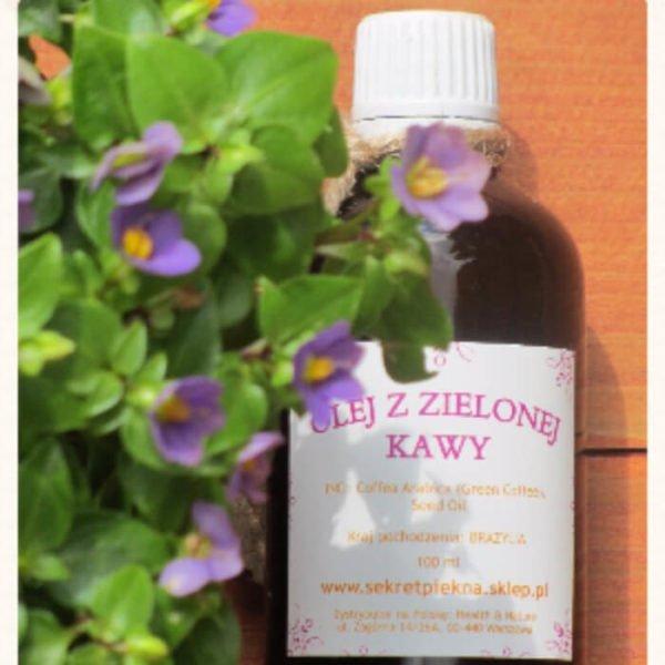 Olej z ZIELONEJ KAWY redukcja cellulitu