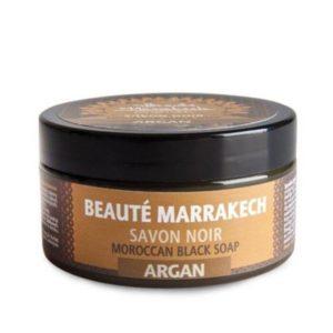 Czarne mydło naturalne Savon Noir arganowe 100g